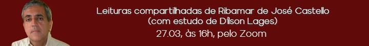 Leituras compartilhadas de Ribamar de José Castello (com estudo de Dilson Lages)