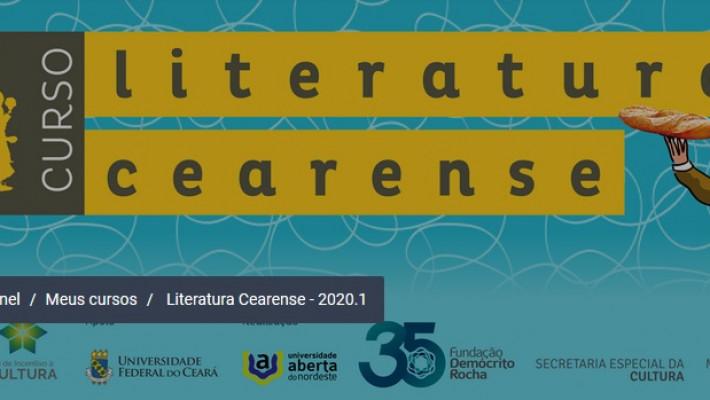 140 horas: Literatura do Ceará em curso gratuito