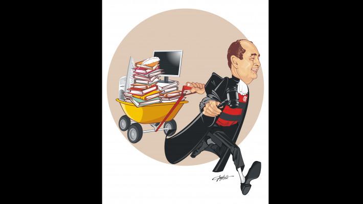 Elmar visto por Gervásio Castro, na condição de juiz, literato, blogueiro e flamenguista.