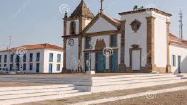 Vista do centro histórico de Oeiras.