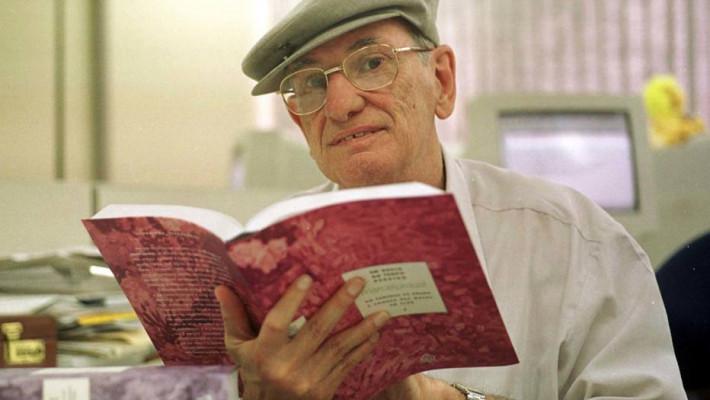 Fernando Py em foto de abril de 2002. Autoria: Alaor Filho/Estadão