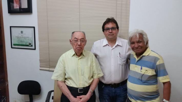Celso Barros Coelho, Álvaro Mota e Herculano Moraes