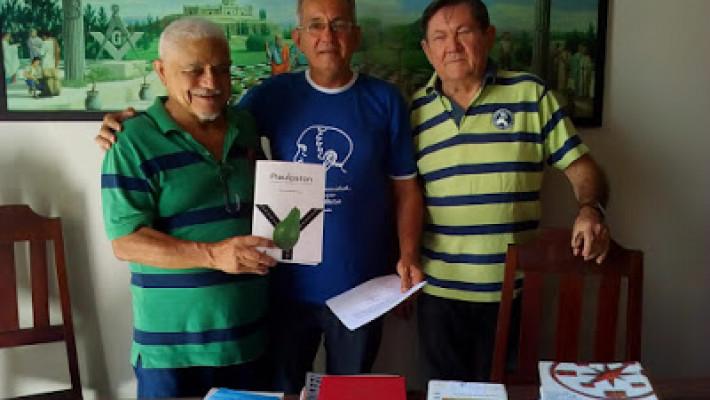 Antônio Gallas, Vitor e Paulo de Tarso Mendes Souza