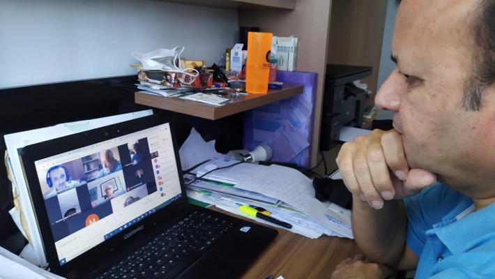 Mediado pela tecnologia, presidente Zózimo Tavares retoma rotina de sessões ordinárias da APL