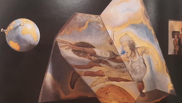 Salvador Dalí e um corona surreal