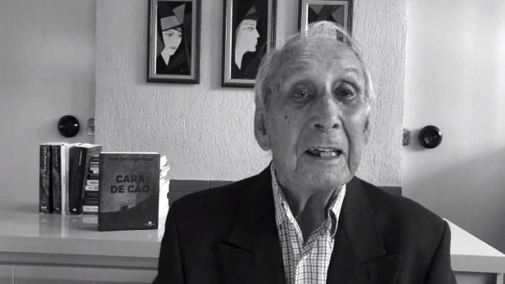 Último registro fotográfico do grande poeta gaúcho José Santiago Naud
