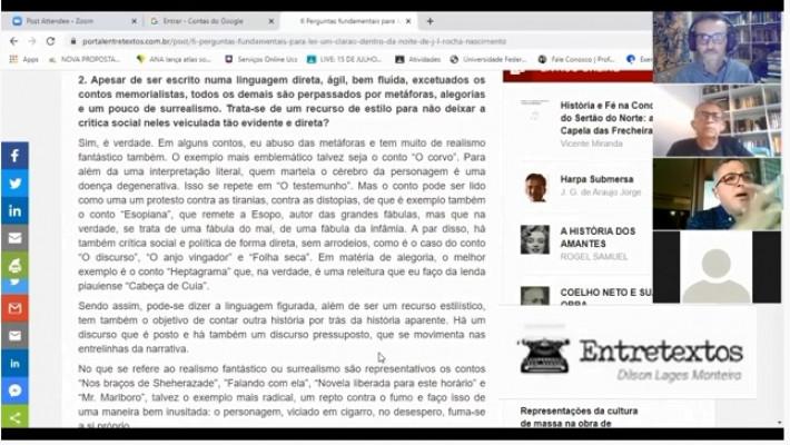4º Círculo Literário Virtual de Entretextos