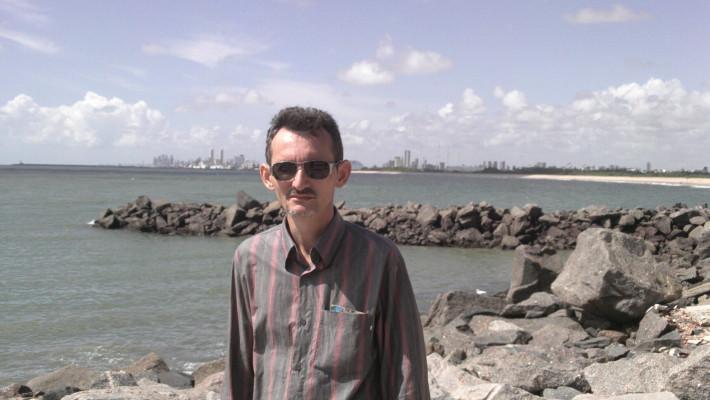 Dílson Lages Monteiro em fotografia de 2009, em Olinda-PE