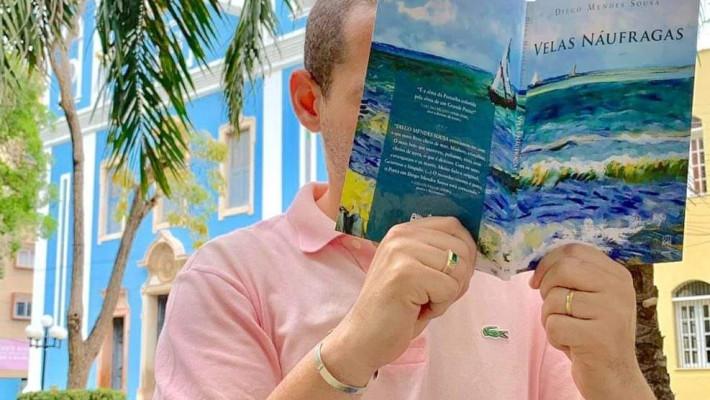 Hoje, às 16h, pelo Zoom: Leituras Compartilhadas de Velas Náufragas de Diego Mendes Sousa
