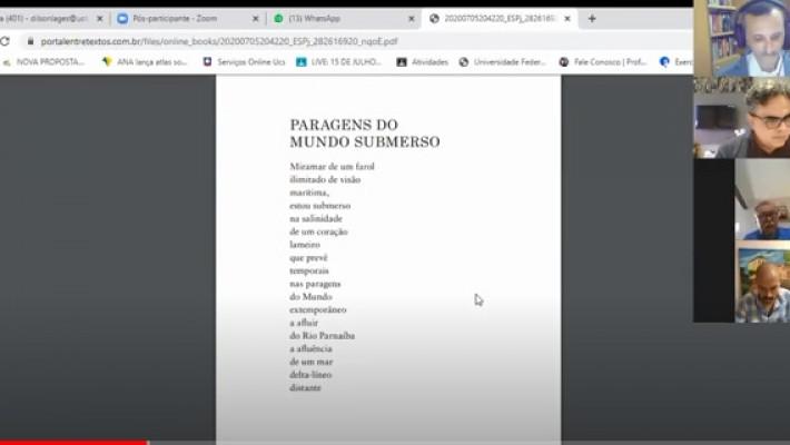 """5º Círculo Literário Virtual de Entretextos: Leituras compartilhadas de """"Velas Náufragas"""", de Diego Mendes Sousa"""
