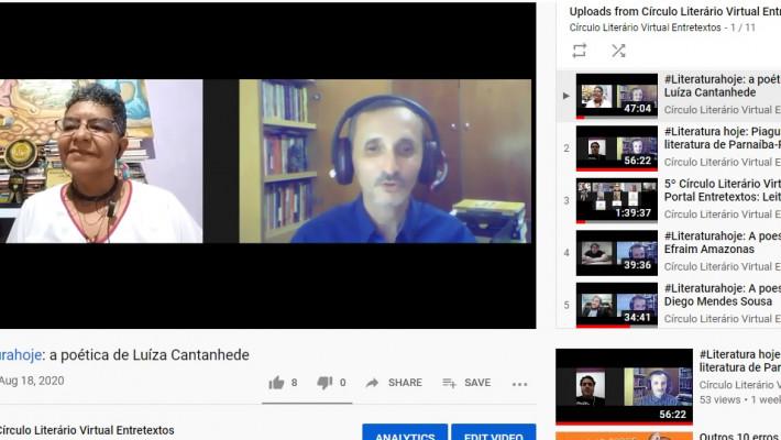 Print de videos iniciais do canal do You Tube
