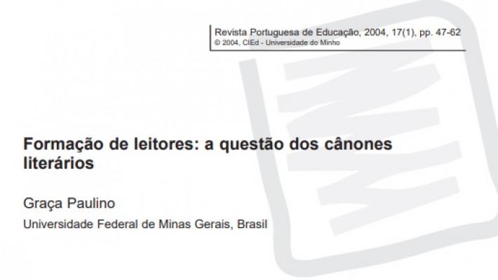 Palavra de especialista: Graça Paulino - Formação de leitores: a questão dos cânones literários