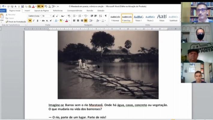 Dílson Lages Monteiro comentou as representações do rio Marataoã na literatura.