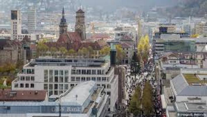 Stuttgart, Alemanha, onde faleceu o biografado.
