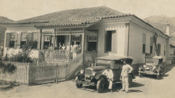 Fazenda Santa Cruz, em Leopoldina-MG, onde viveu o escritor português Miguel Torga por 5 anos.