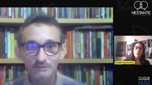 Dílson Lages em entrevista à Eulália Teixeira