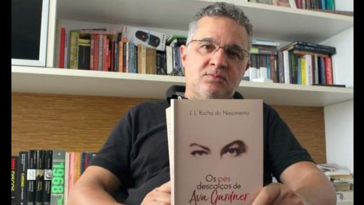 """Convite para o lançamento de """"Os pés descalços de Ava Gardner"""""""