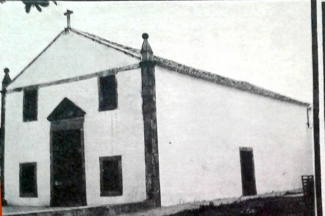Igreja matriz de Santo Antônio, em Jerumenha, construída em 1746, pelos jesuítas.
