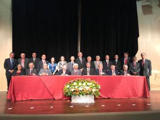 Assumindo a presidência da Academia em 24 de janeiro de 2010, o autor dessas notas concluiu a edição da Coleção Grandes Textos