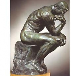 A estátua pensa