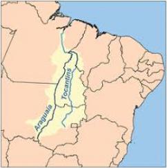 Mapa da região Norte-Nordeste